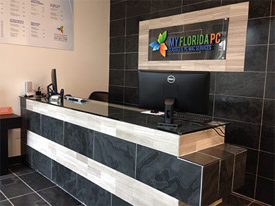 My Florida PC front counter